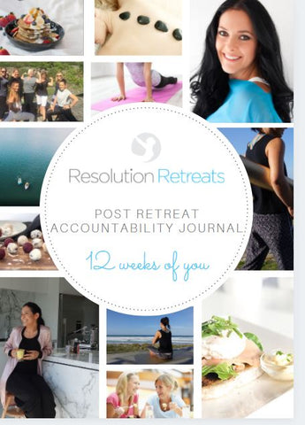 Resolution Retreats Accountability Journal/Planner