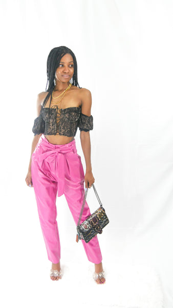 Bossy Leatherette Pants