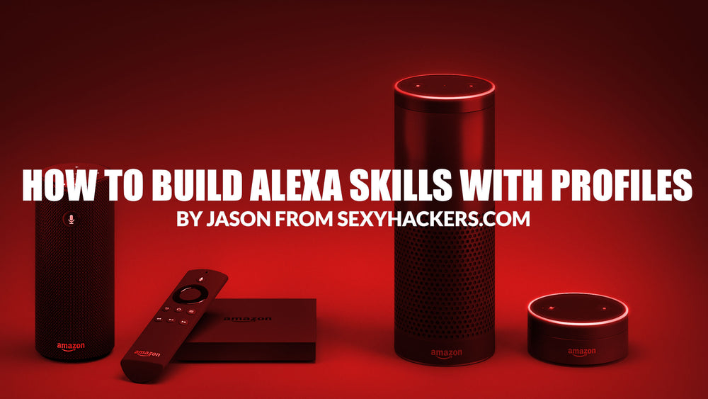 How To Build an Alexa Skill with User Profiles, without writing code.