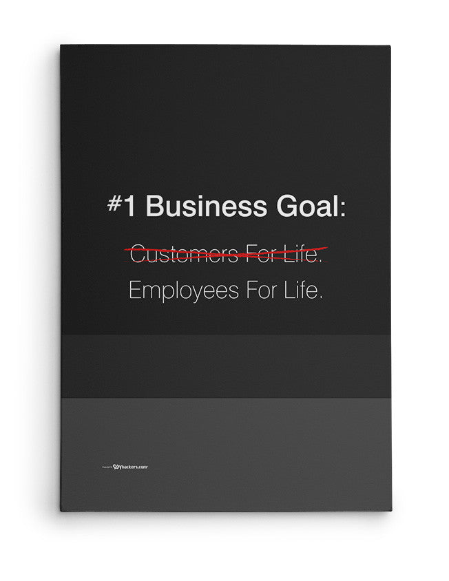 Canvas - #1 Business goal: Employees for life.  - 2