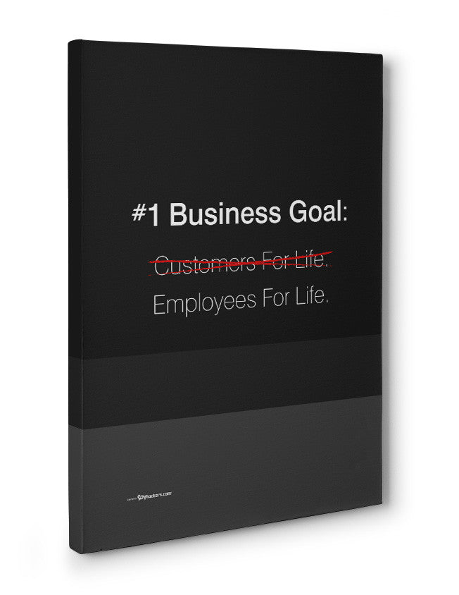 Canvas - #1 Business goal: Employees for life.  - 3