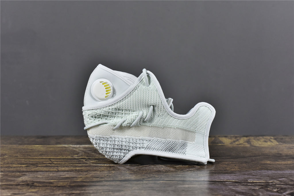 Adidas Boost 350 V2 Cloud White - Face Mask