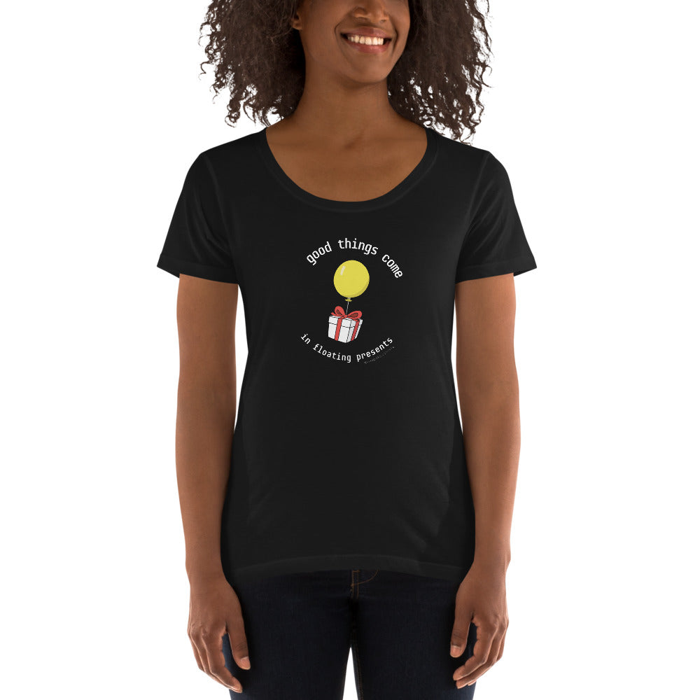 Animal Crossing - Good Things Women's Scoopneck T-shirt