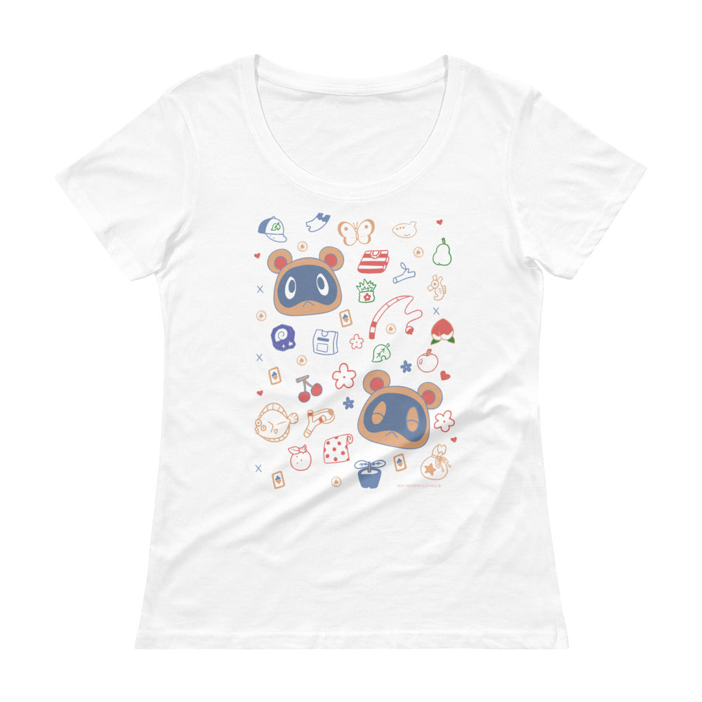 Animal Crossing - Buy and Sell Women's Scoopneck T-shirt