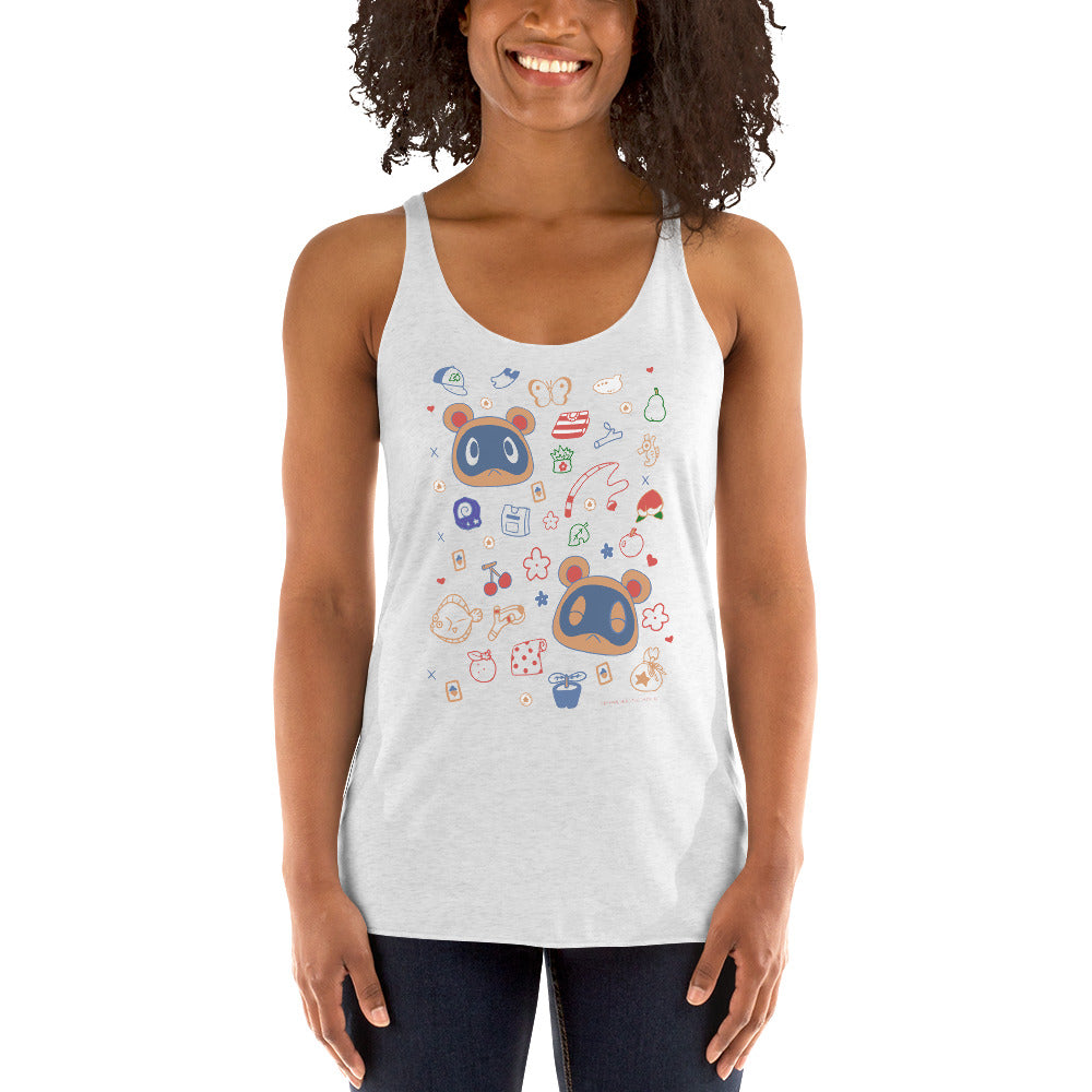 Animal Crossing - Buy and Sell Women's Racer-back Tank-top
