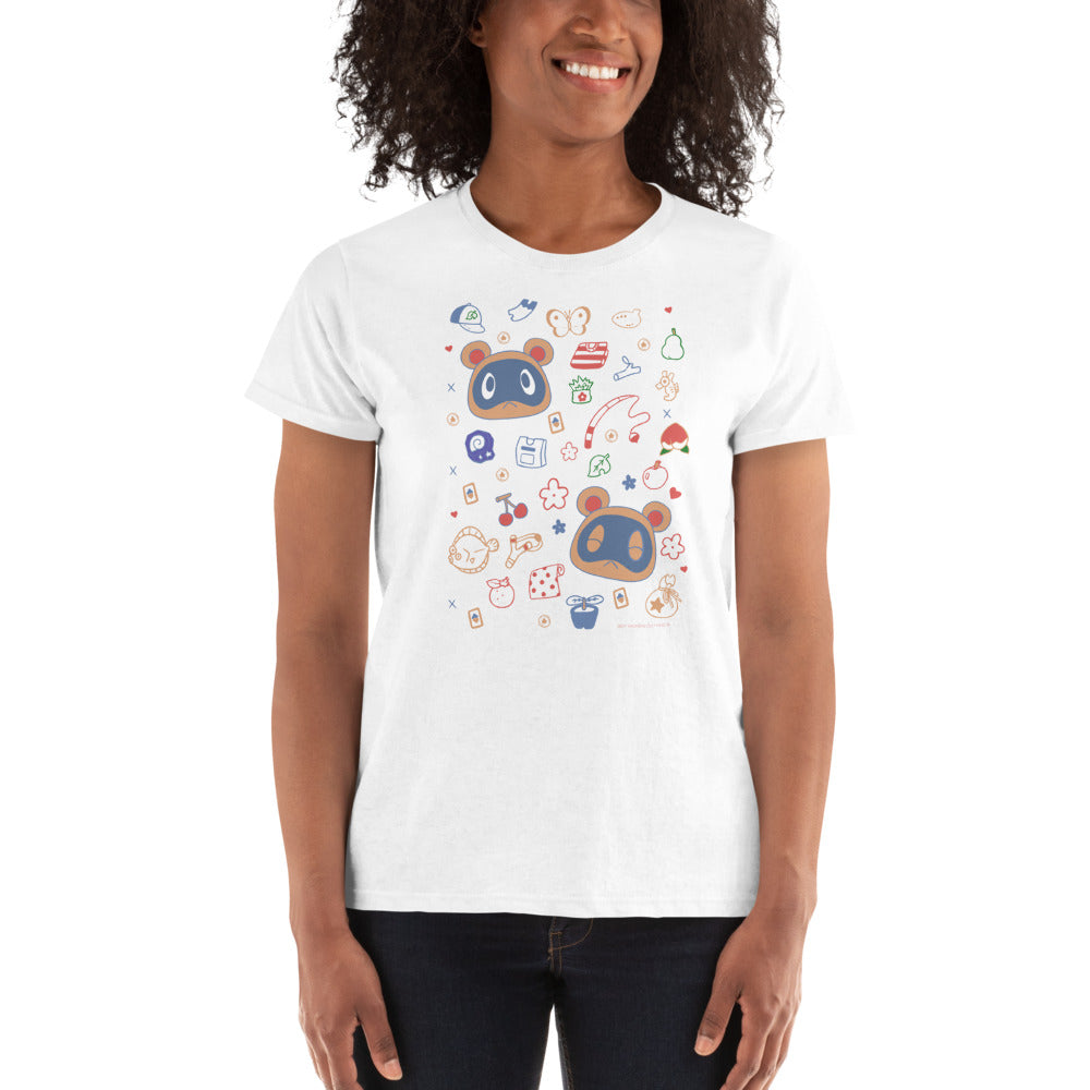 Animal Crossing - Buy and Sell Ladies Ultra Cotton T-shirt