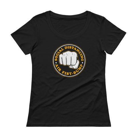 Air Fist Bump Women's Scoopneck T-shirt