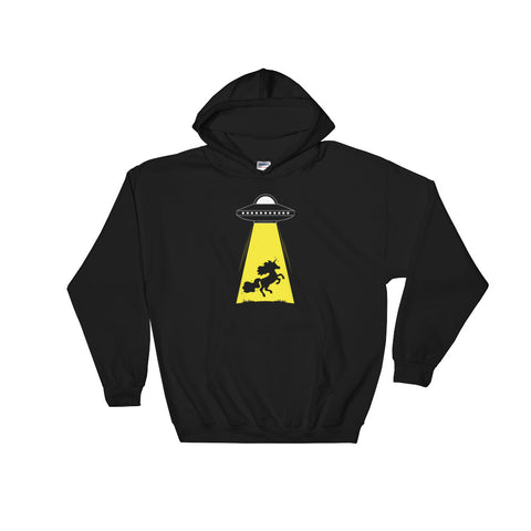 Unicorn Alien Abduction Unisex Hoodies