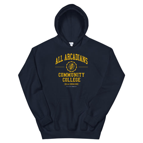 All Arcadians Community College Unisex Hoodies