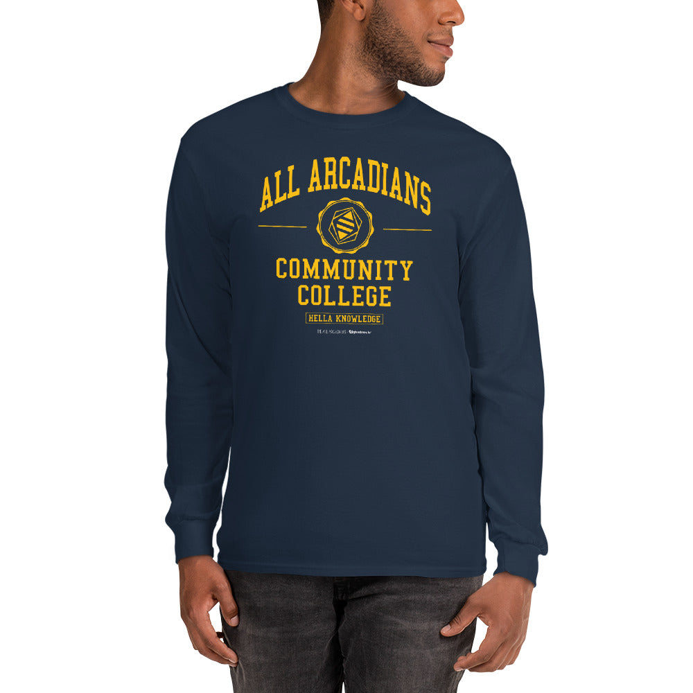 All Arcadians Community College Men's Long Sleeve