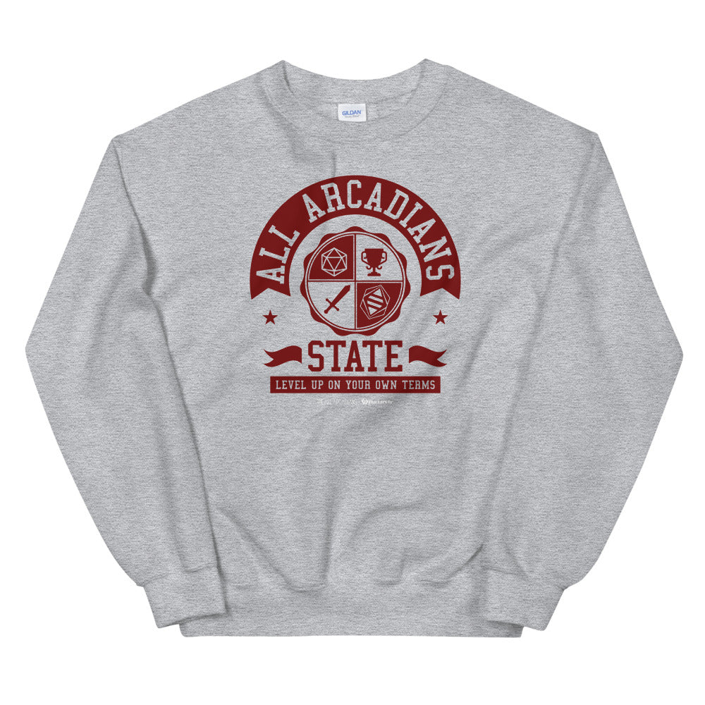 All Arcadians State Unisex Sweatshirts