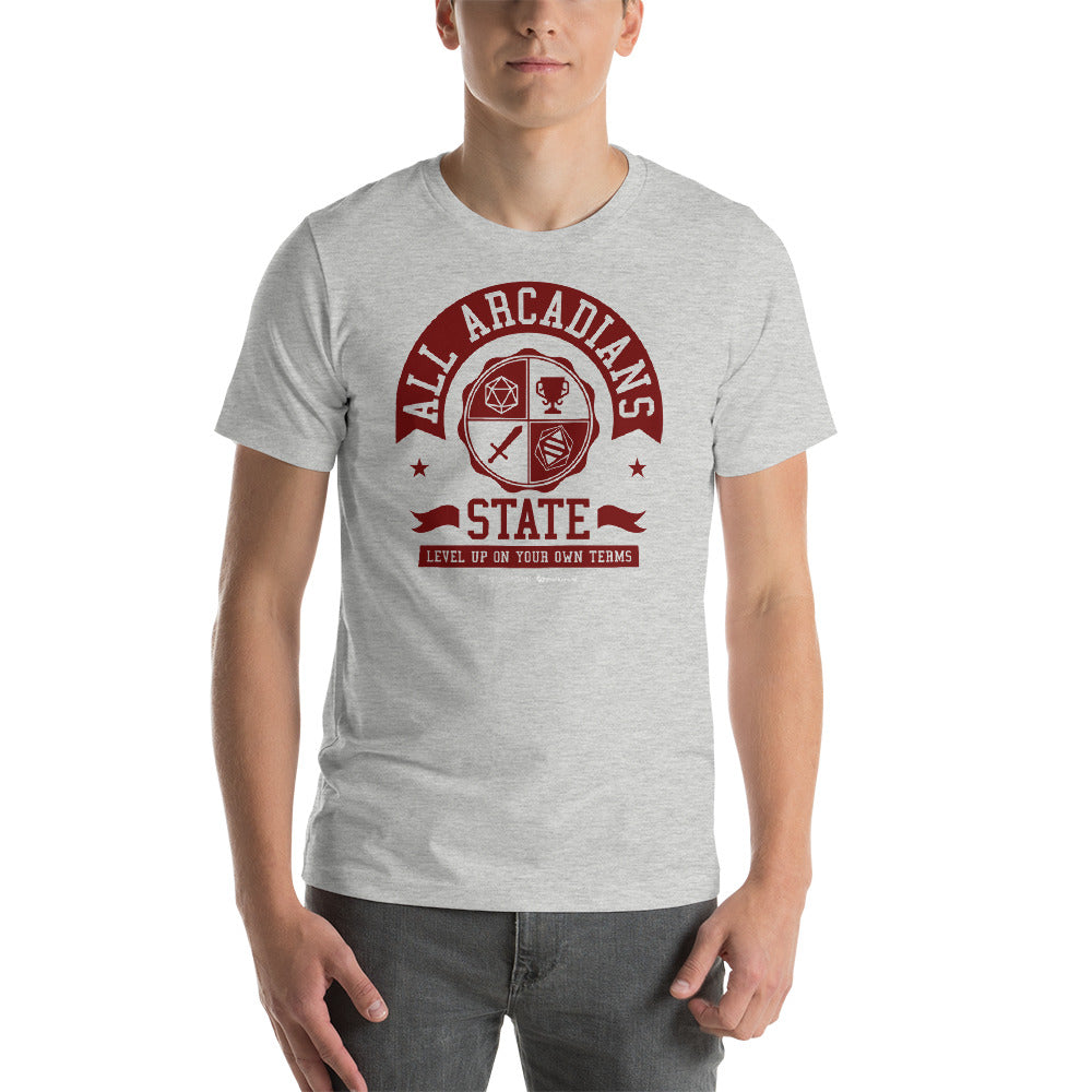 All Arcadians State Unisex T-shirt
