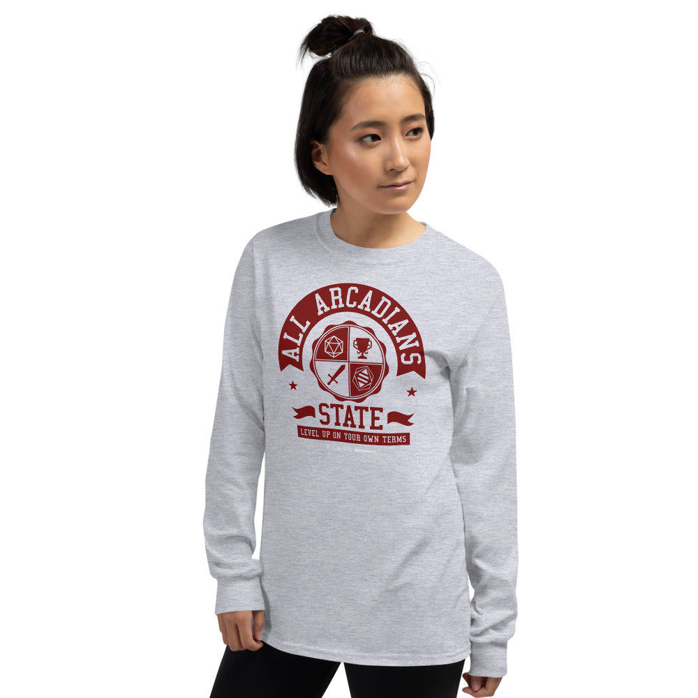 All Arcadians State Men's Long Sleeve