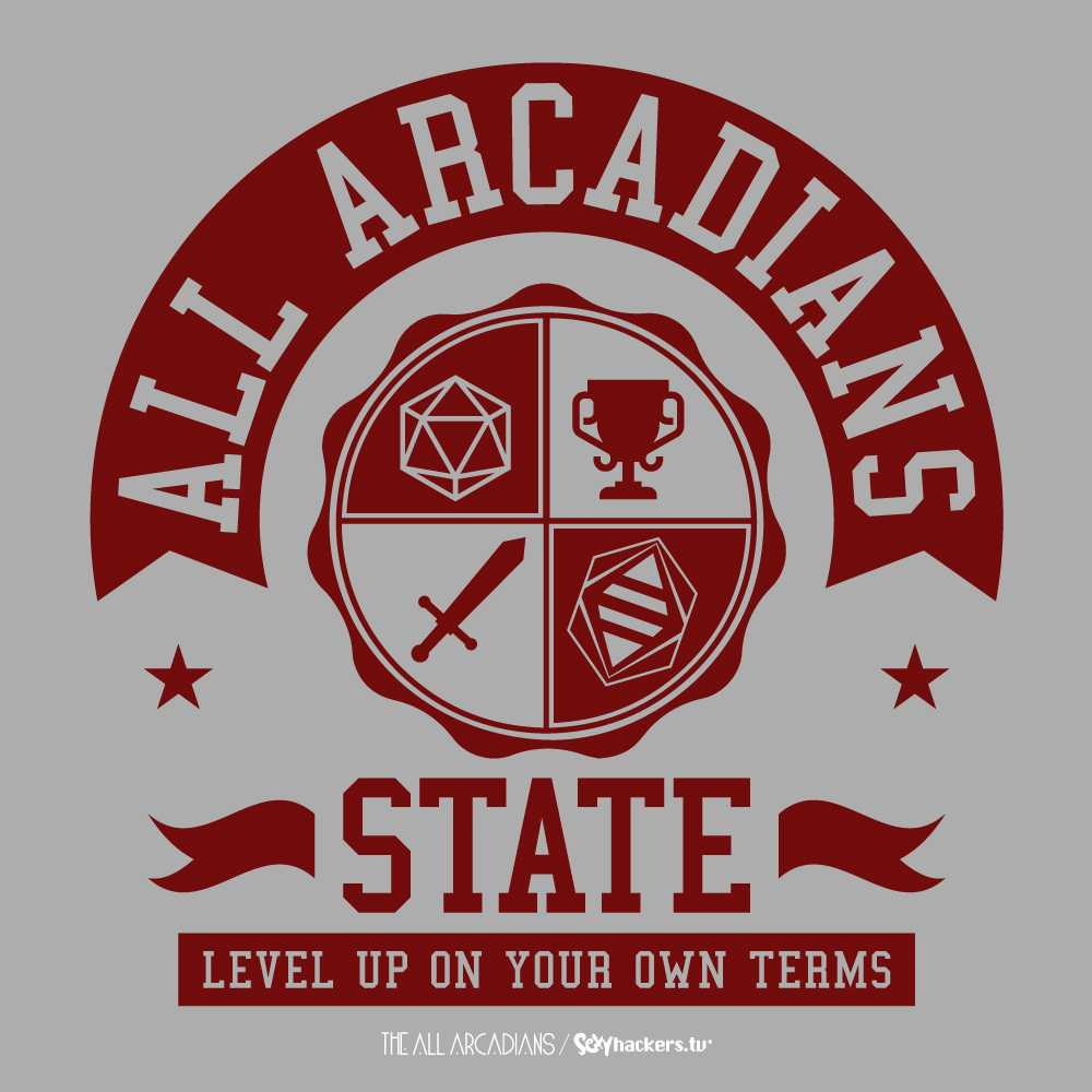 All Arcadians State Women's Scoopneck T-shirt