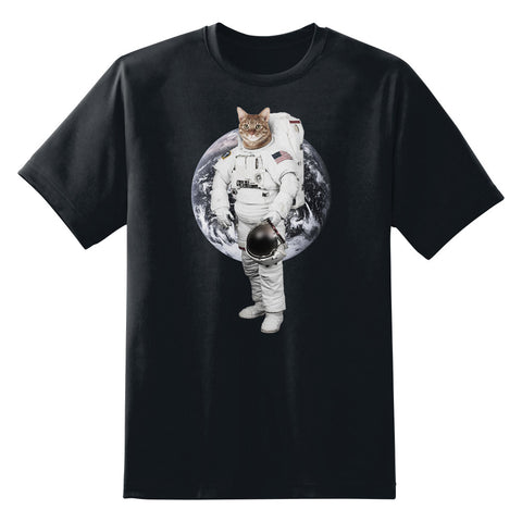 Astro Cat II Unisex T-Shirt by Sexy Hackers