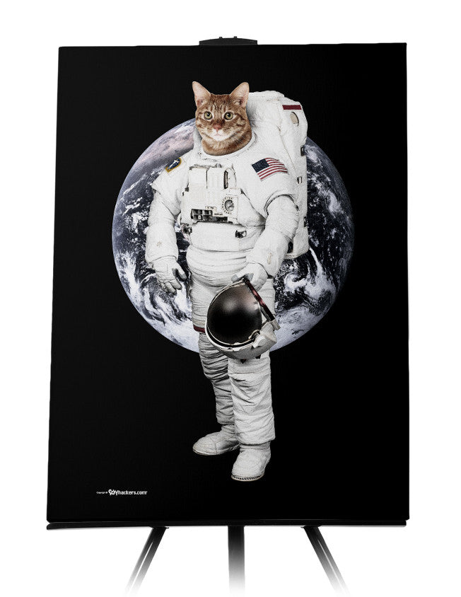Astro Cat II Canvas