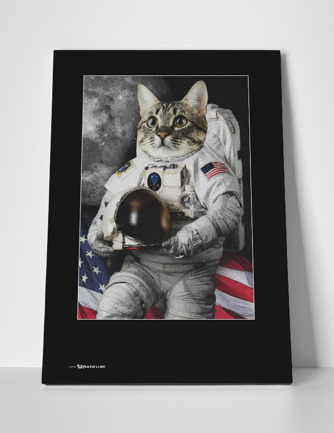 Astro Cat Canvas