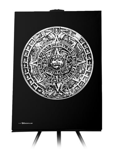 Canvas - Aztec Calendar  - 1