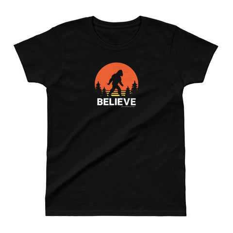 Believe Ladies Ultra Cotton T-shirt