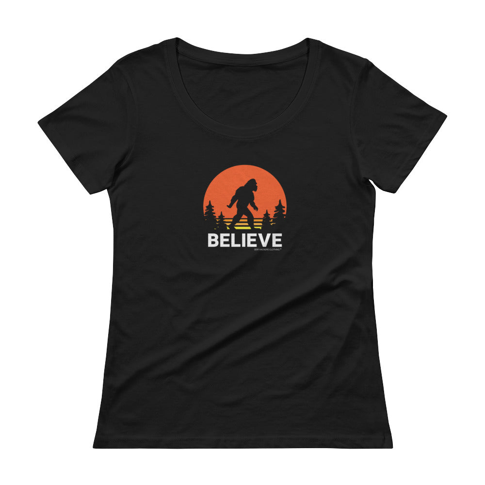 Believe Women's Scoopneck T-shirt