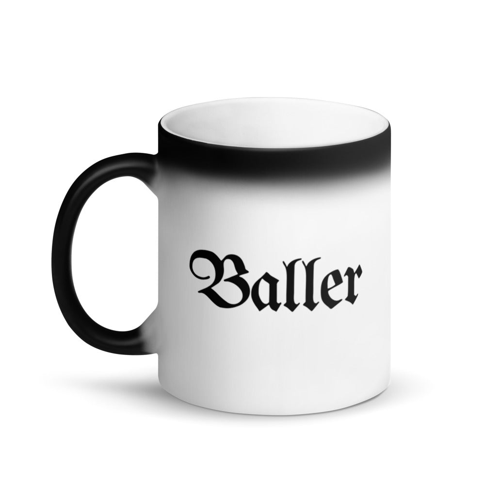Baller Color-Changing Coffee Mug