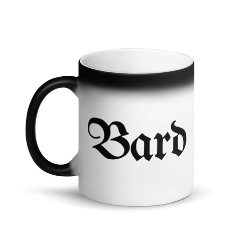 Bard RPG Character Class Color-Changing Coffee Mug