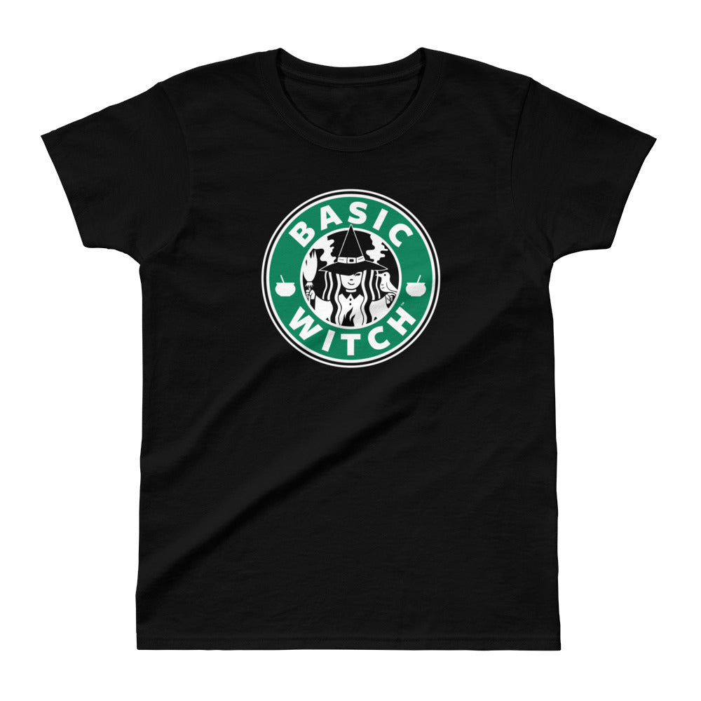 Basic Witch Brew Coffee Ladies Ultra Cotton T-shirt