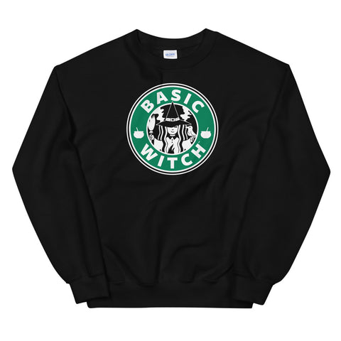 Basic Witch Brew Coffee Unisex Sweatshirts