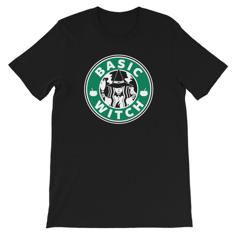 Basic Witch Brew Coffee Unisex T-shirt