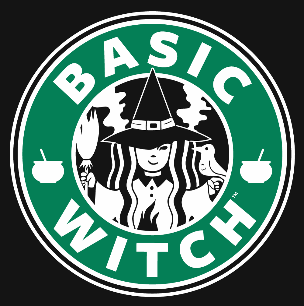Basic Witch Brew Coffee Women's Scoopneck T-shirt