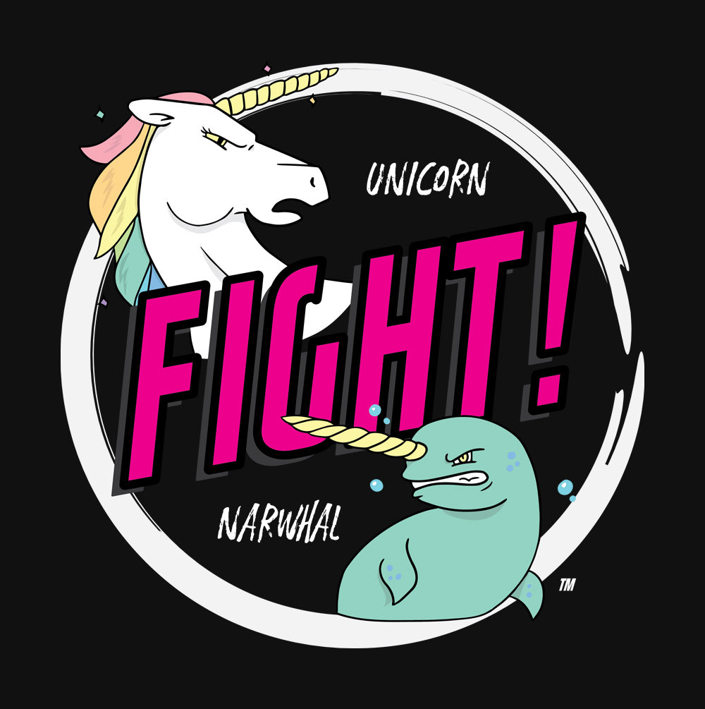 Unicorns Vs Narwalls Princess T-shirt