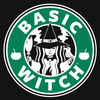 Basic Witch Brew Coffee Women's Racer-back Tank-top