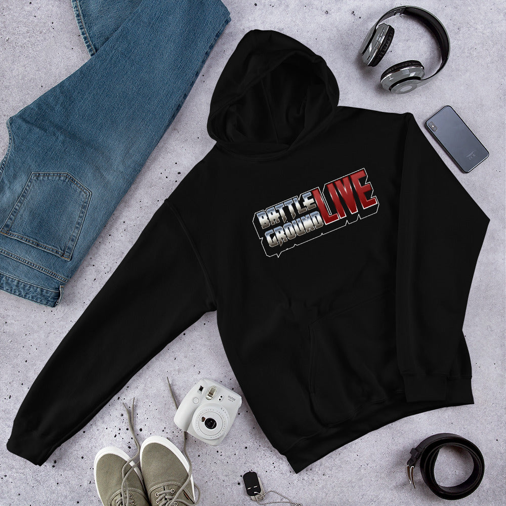 BattlegroundLIVE Logo Unisex Hoodies
