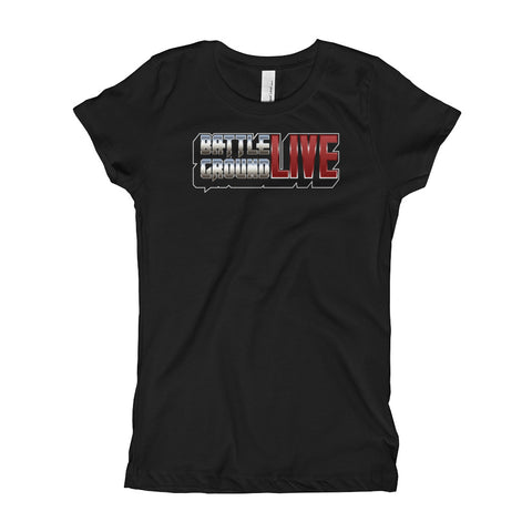 BattlegroundLIVE Logo Princess T-shirt