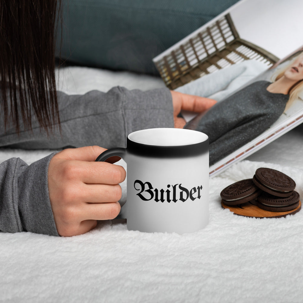 Builder Color-Changing Coffee Mug