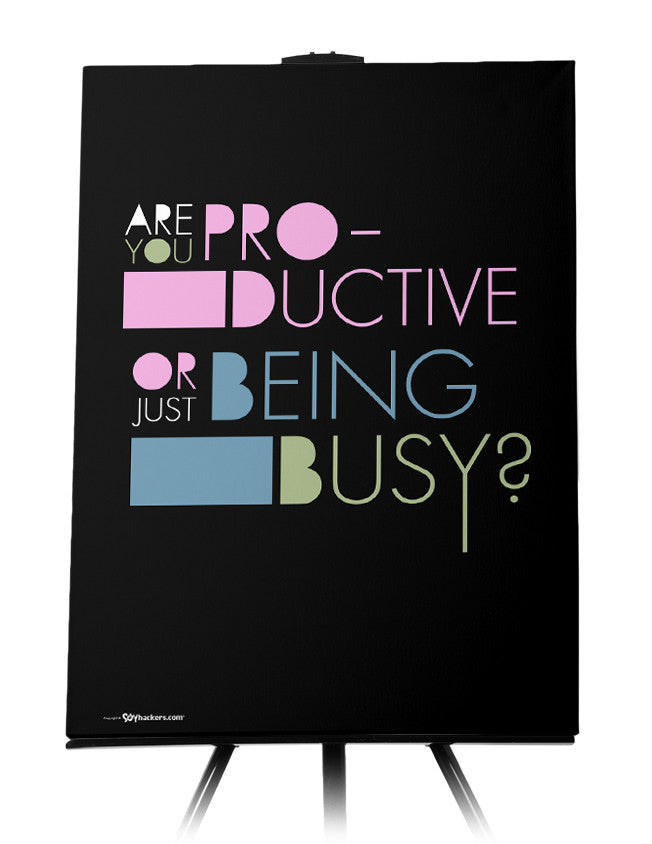 Canvas - Are you productive or just being busy?  - 1