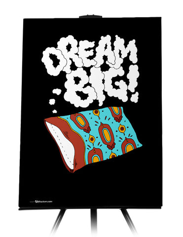 Canvas - Dream big.  - 1