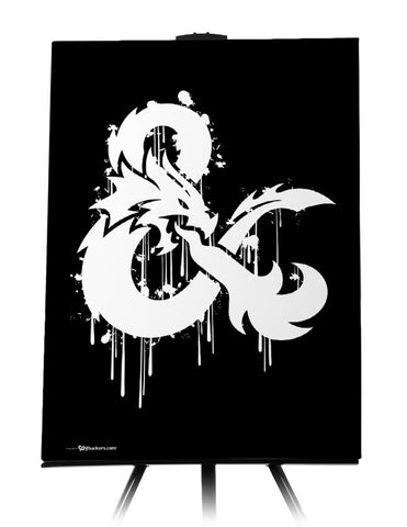 Canvas - Dungeons & Dragons Stylized Logo  - 1