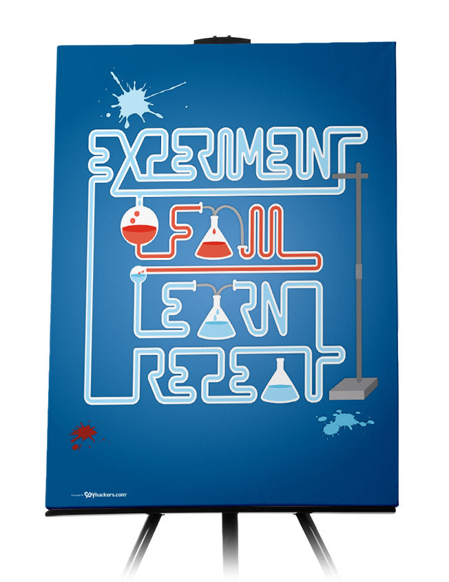 Canvas - Experiment. Fail. Learn. Repeat.  - 1