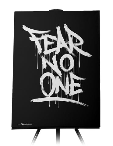 Fear No One Canvas