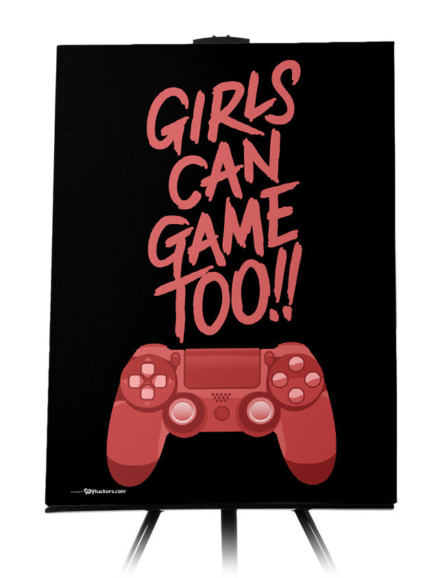 Canvas - Girls Can Game Too!!  - 1