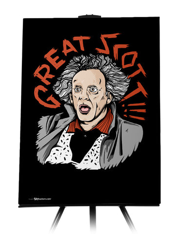 Doc Brown Great Scott Canvas