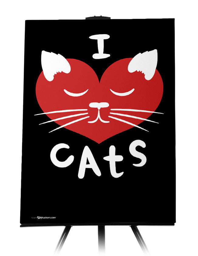 Canvas - I ♥ Cats  - 1