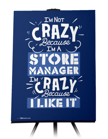 Canvas - I'm Not Crazy Because I'm...  - 1