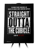 Canvas - Official Straight Outta The Cubical Artwork For NWA Members Living Outside of Compton California  - 1
