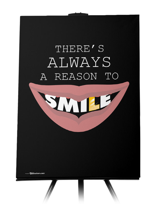 Canvas - There's always a reason to smile.  - 1