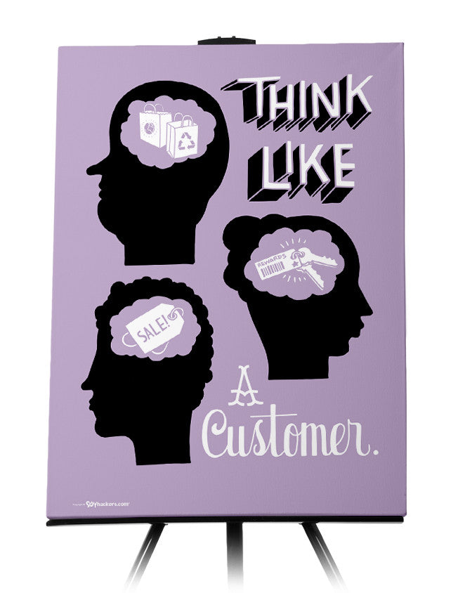 Canvas - Think like a customer.  - 1