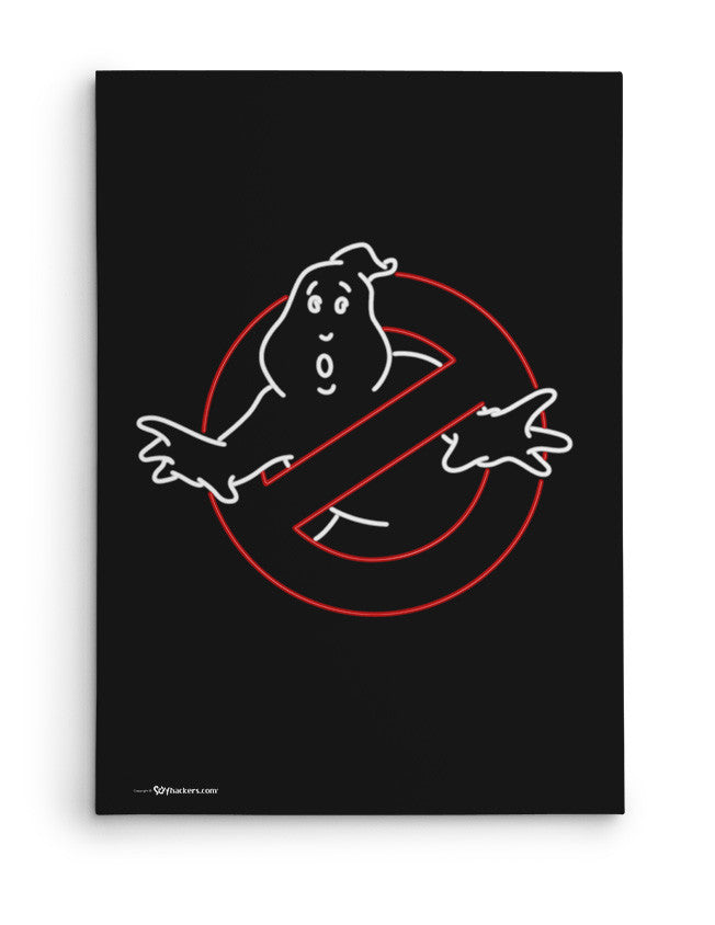 Canvas - Neon Ghostbusters  - 2