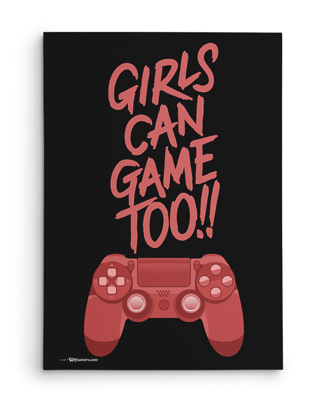 Canvas - Girls Can Game Too!!  - 2