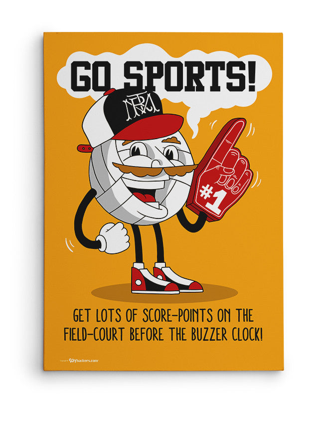 Canvas - Go Sports!  - 2